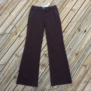NWT VINTAGE Cache Brown Flare Pants